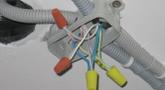 Прокладка провода в гофре (за 1 метр)